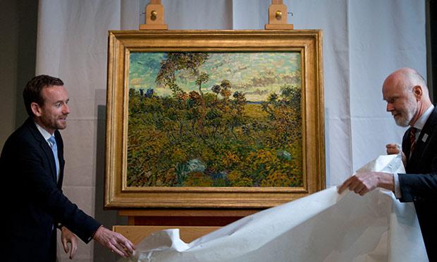 Van Gogh's Sunset at Montmajour
