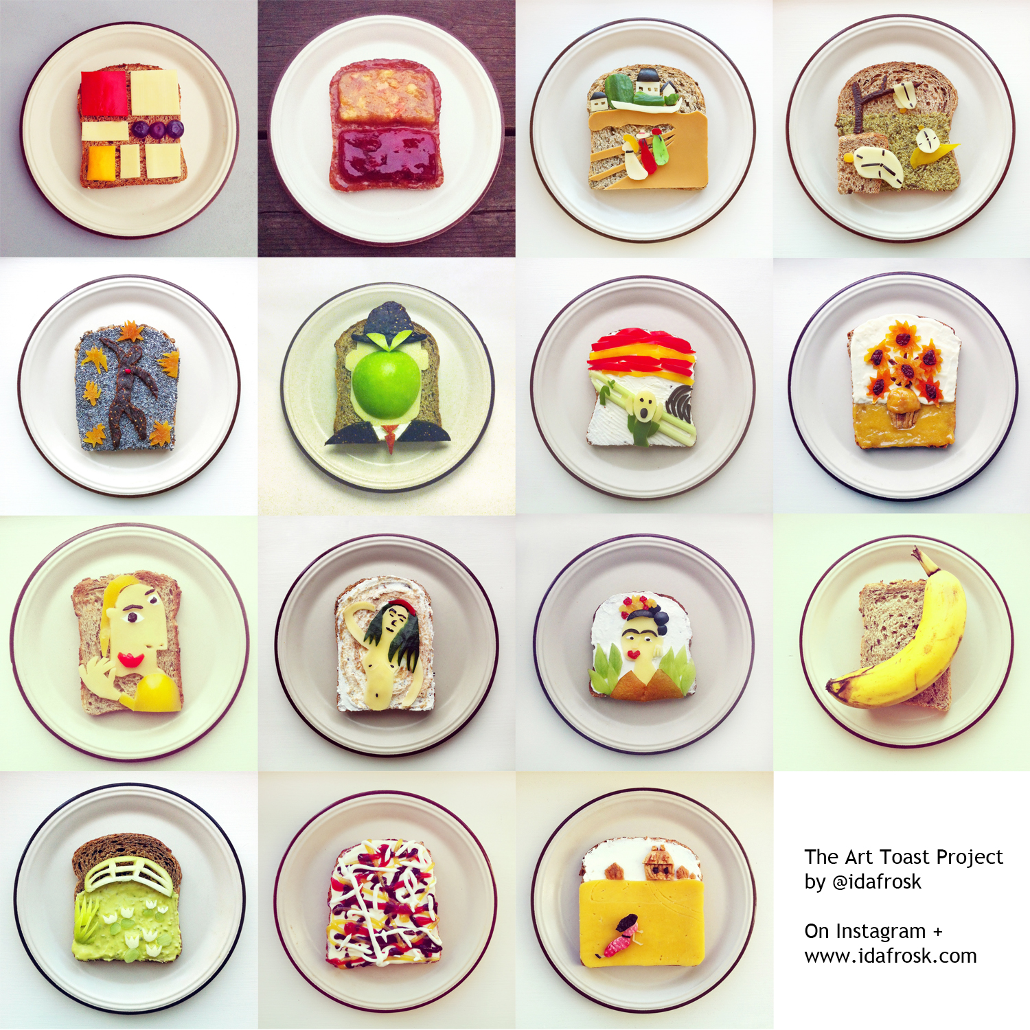 The Art Toast Project by Idafrosk