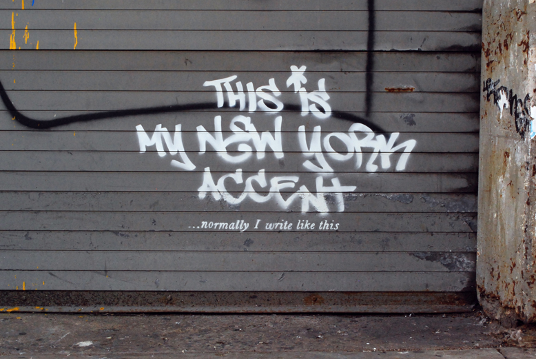 anksy - This Is My New York Accent