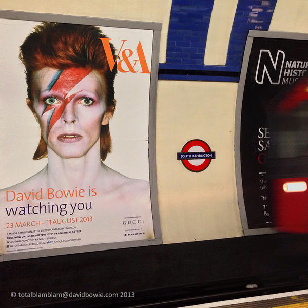 David Bowie is ... Watching You