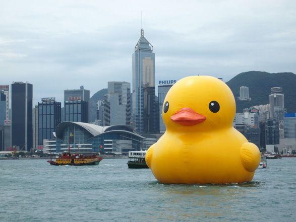 Florentijn Hoffmans Rubber Duck2