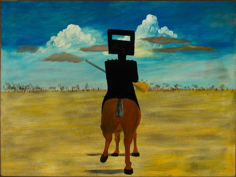 Ned Kelly - Australia at The Royal Academy in London