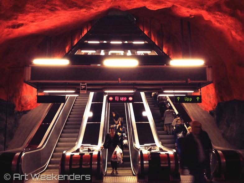 Stockholm Underground Solna