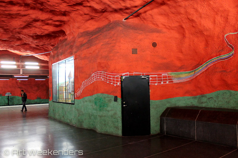 Stockholm's Metro Art Solna