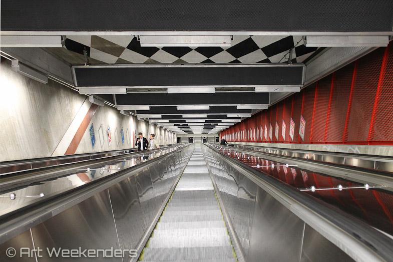 Stockholm's Metro Art