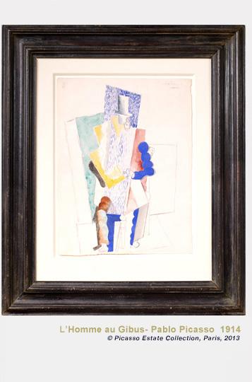 Picasso L'Homme au Gibus