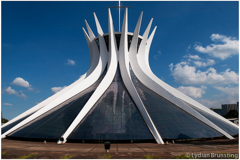 Brazil-Brasilia-Oscar-Niemeyer-Cathedral