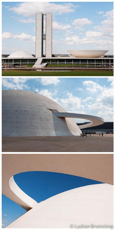 Brazil-Brasilia-Niemeyer-Congres