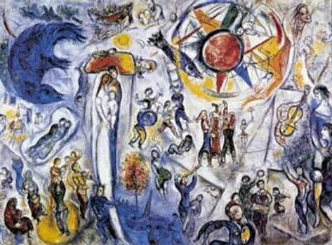 Chagall-La-Vie-1964