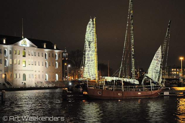 The-Netherlands-Amsterdam-Light-Festival-2013-Scheepvaartmuseum-Lydian-Brunsting
