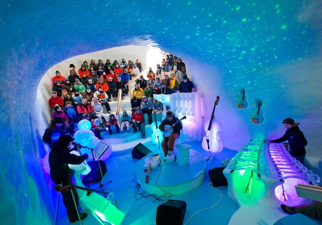Ice Music Festival Lulea Sweden