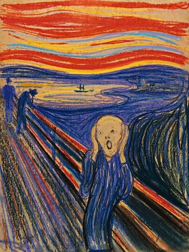 Image result for E. Munch's Scream