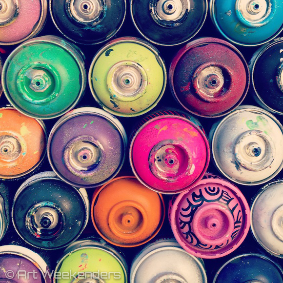 Germany-Berlin-streetart-workshop-spraypaint-cans