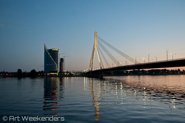 Riga travel tips: 2014-Latvia-Riga-Vansu-bridge