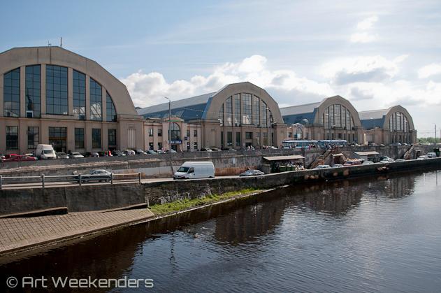 Riga travel tips: 2014-Latvia-Riga-market