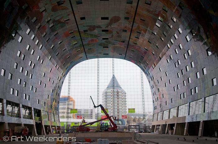 Rotterdam Markthal: Netherlands-Rotterdam-IABR-Markthal