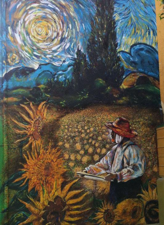 Chile-Valparaiso-Van-Gogh-street-art