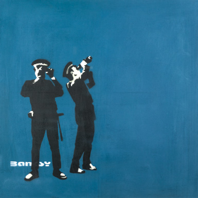 Banksy-Avon-Somerset-Constabulary