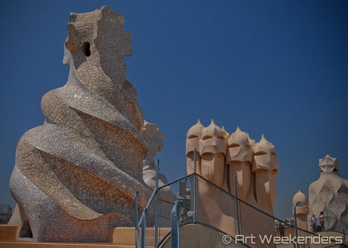 Spain-Gaudi-Barcelona-Casa-Mila