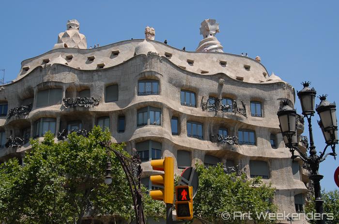 Casa-Mila-Gaudi-Barcelona-Spain