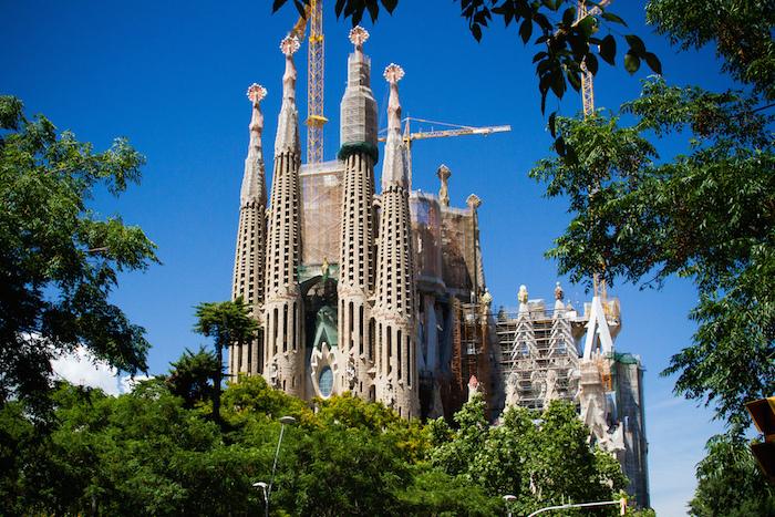 Gaudi-Barcelona-Sagrada-Familia