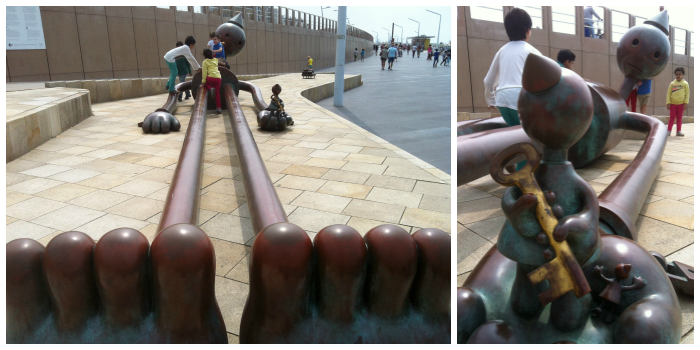 Tom Otterness Collage 2