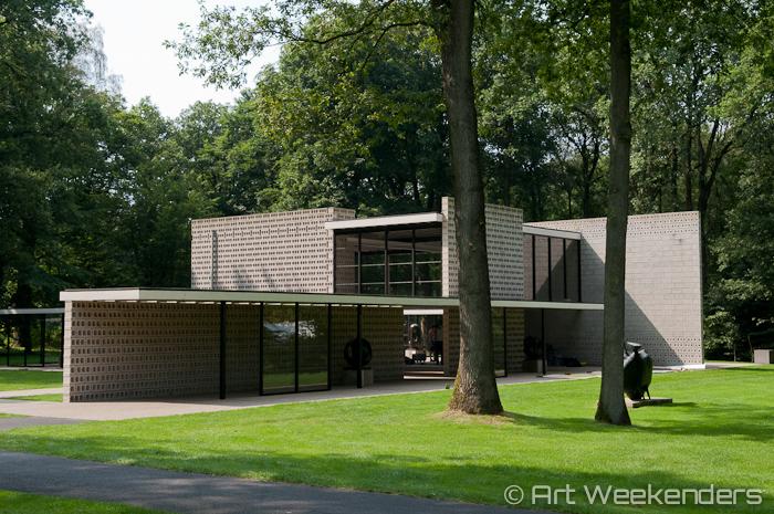 Netherlands-Kroller-Muller-Veluwe-Rietveld-Pavilion