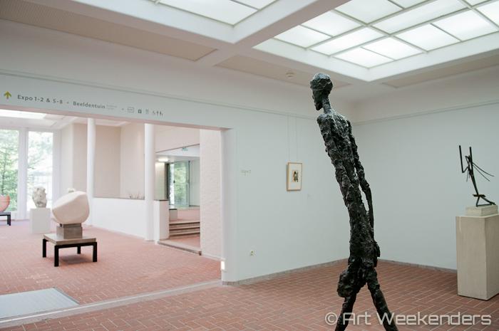 L' homme qui marche II by Alberto Giacometti.