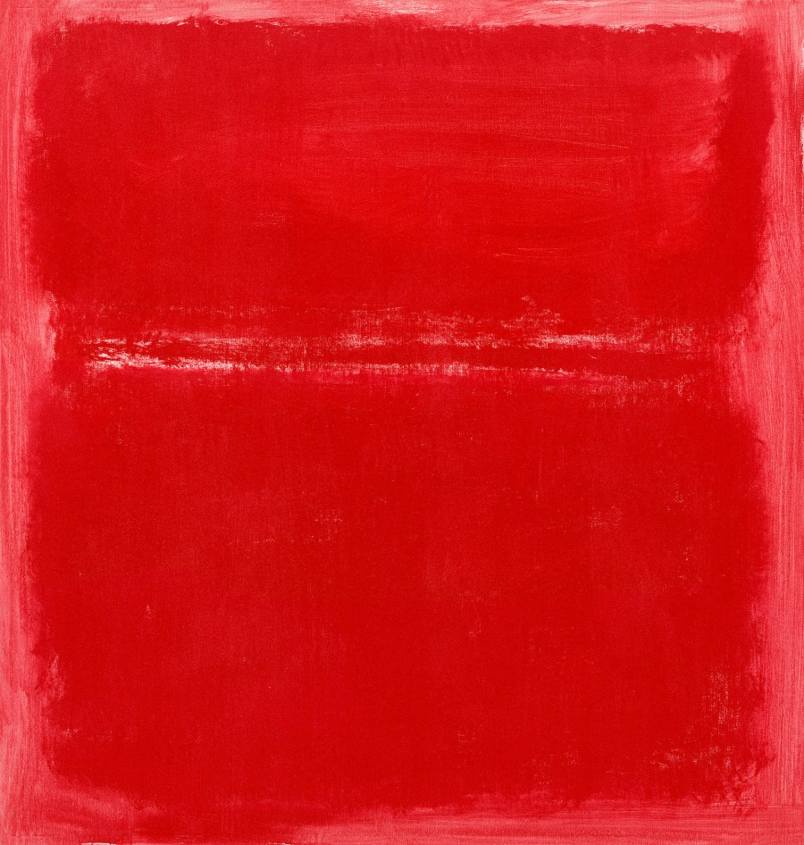 Rothko's colours - Mark Rothko red on red