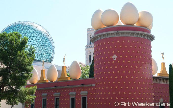 Salvador Dali's Catalonia - Dalinian Triangle Guide 2014 Spain Figueres Dali Theatre Museum