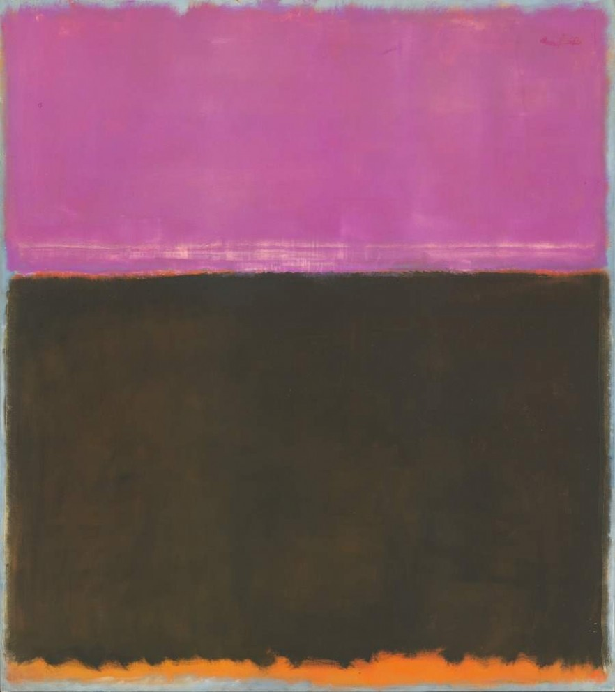 Rothko Purple and Brown
