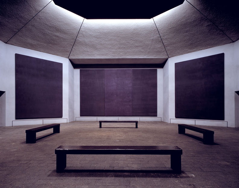 Rothko's colours: The Rothko Chapel