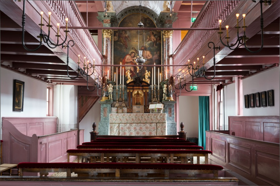 Ons Lieve Heer op de Solder church: Our Lord Attic Co De Kruijf