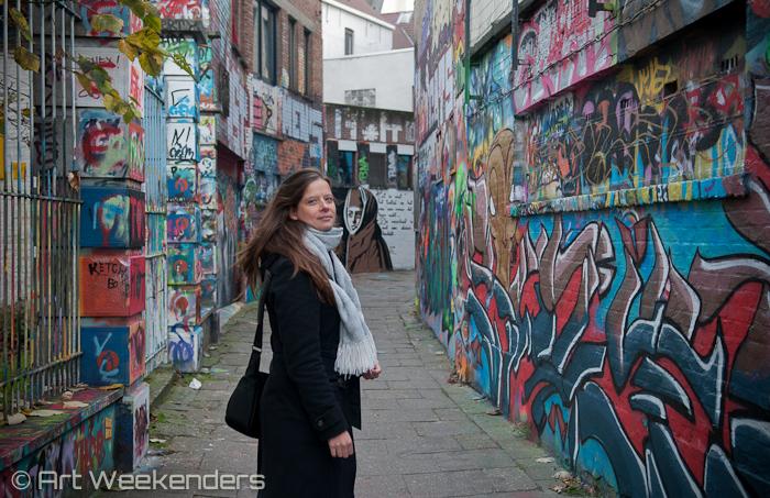 Street Art in Ghent: 2014_Belgium_Ghent_Street_Art_Werregarenstraat