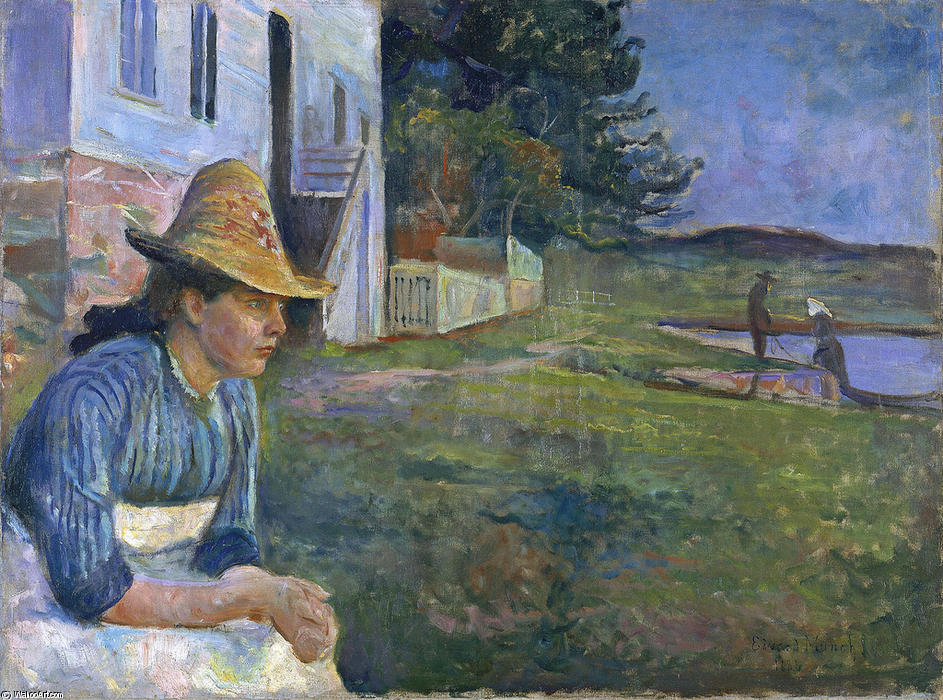 Best exhibitions in Europe 2015: Edvard Munch Evening 1888