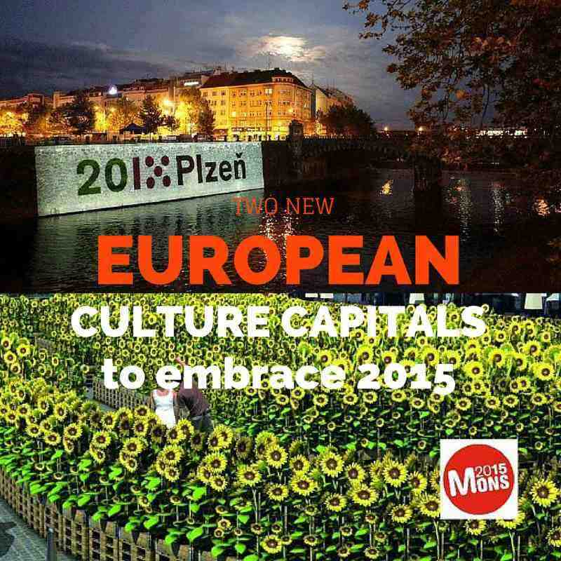 European Culture Capitals 2015 - Plzen and Mons