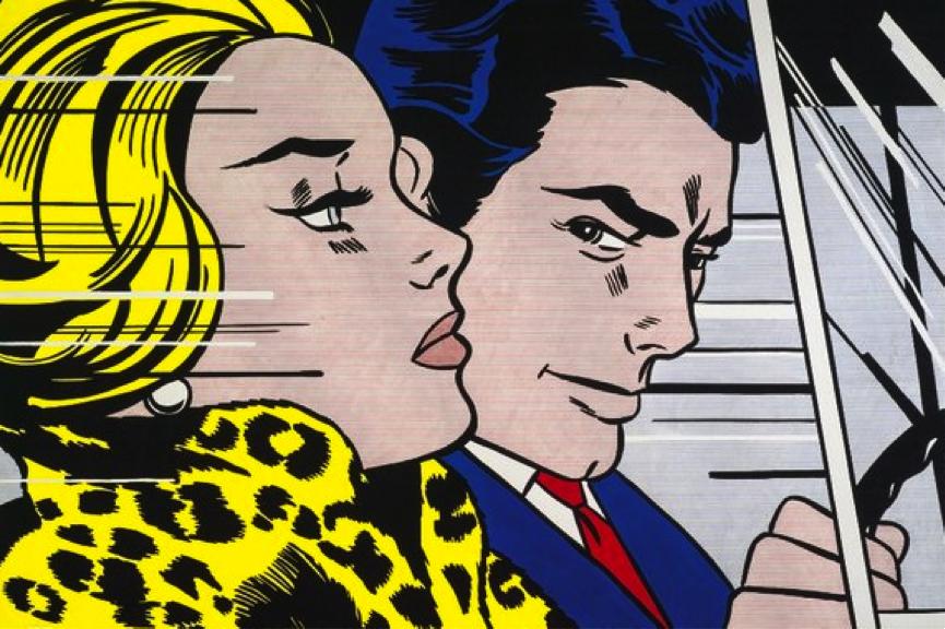 Best exhibitions in europe 2015: Roy Lichtenstein In the Car (1963) © The Estate of Roy Lichtenstein/DACS