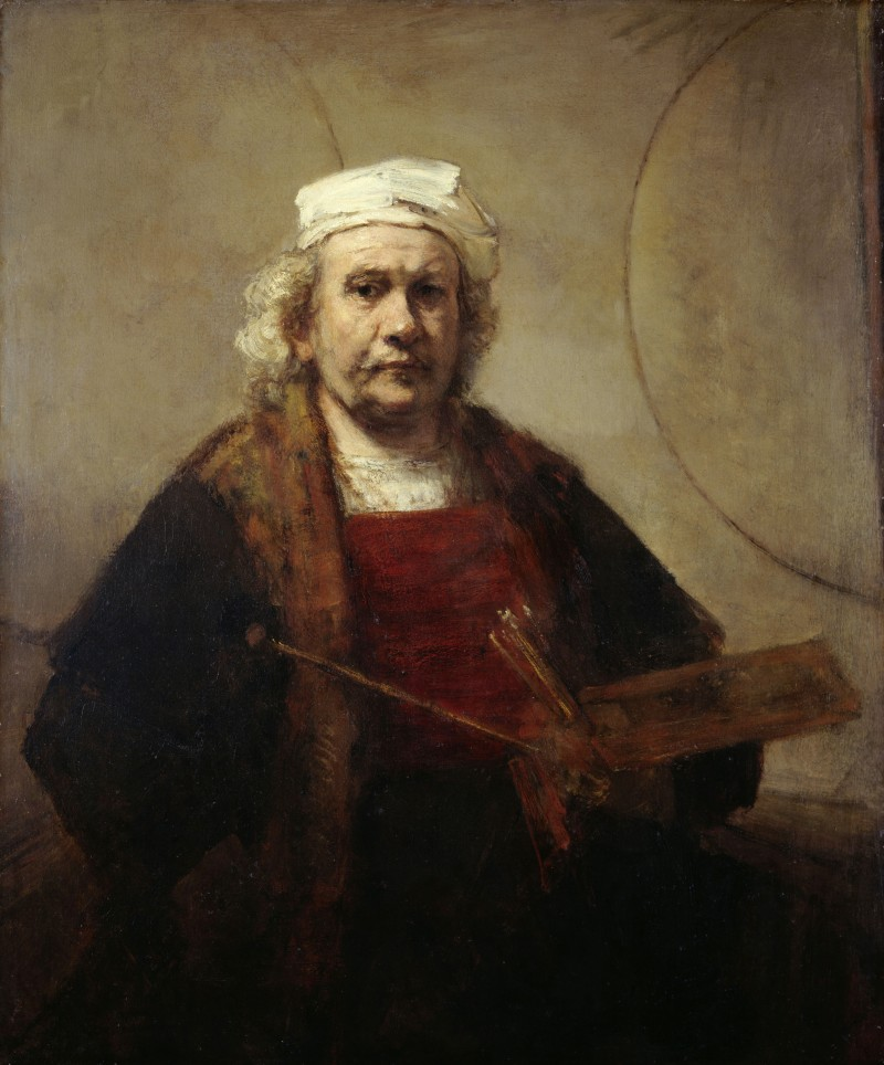 Best exhibitions in europe 2015: Rembrandt - Self Portrait J910070