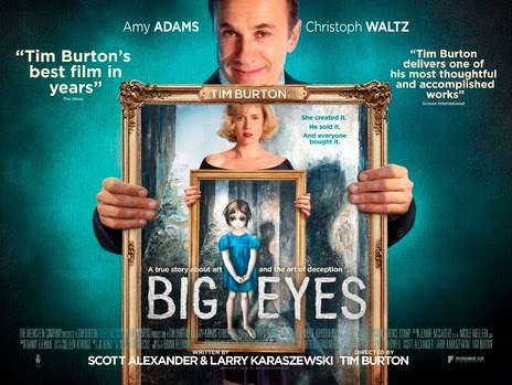 Art couples - Big Eyes Movie