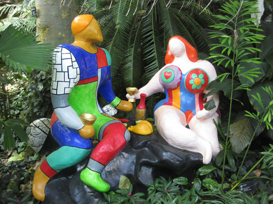Art couples: Niki de Saint Phalle & Tinguely