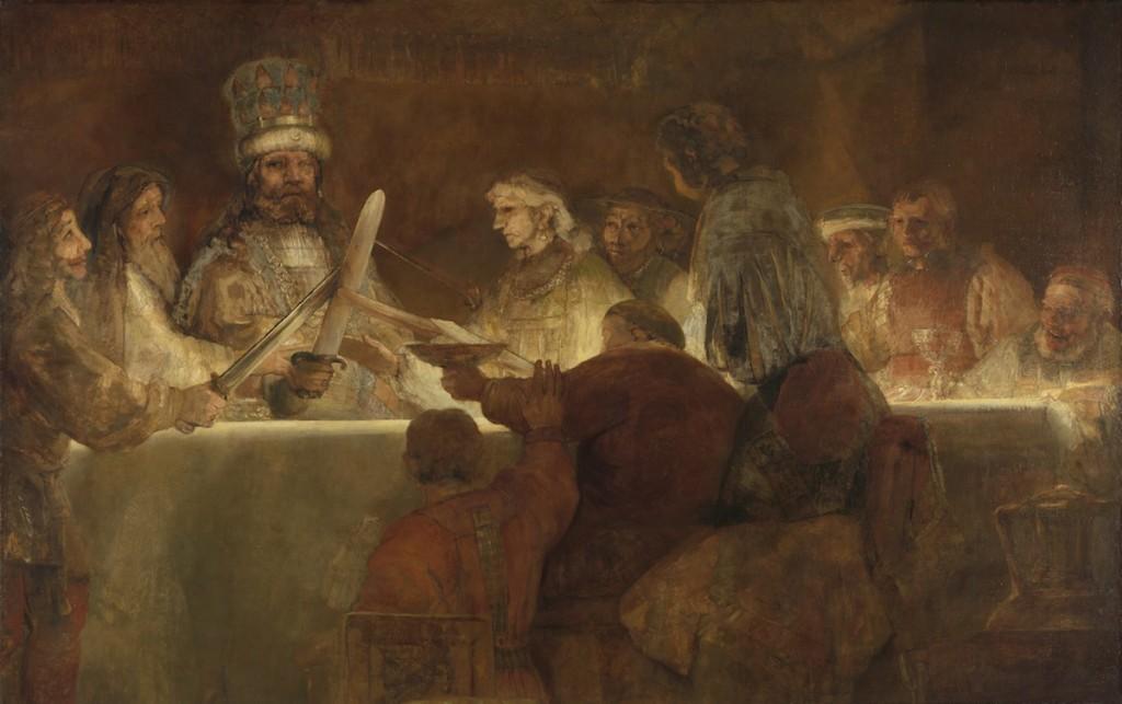 Claudius Civilis, Rembrandt Harmensz. van Rijn   | Late Rembrandt at the Rijksmuseum Amsterdam
