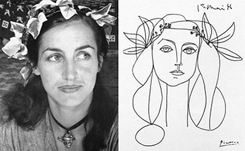 Art Couples Picasso and Gilot