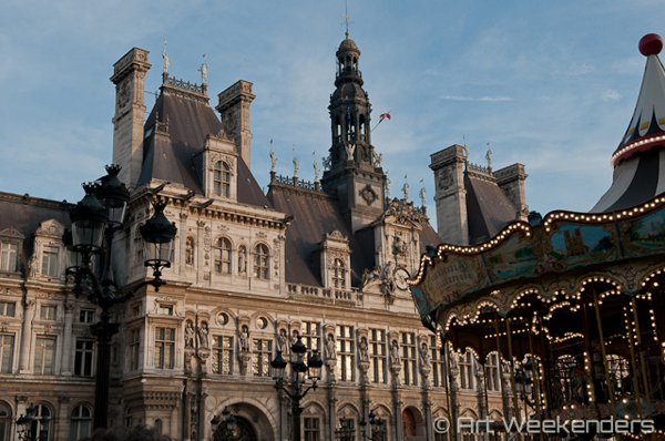Best Exhibitions in Paris: France-Paris-Hotel-de-Ville