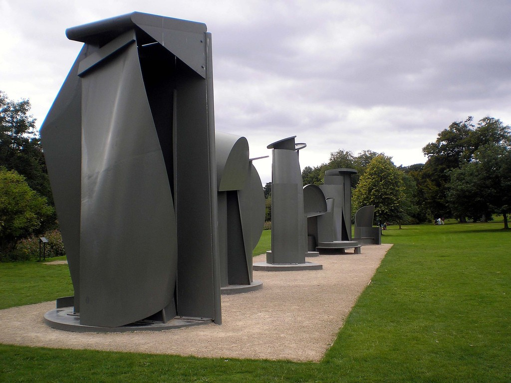 Yorkshire Sculpture Park - Anthony Caro