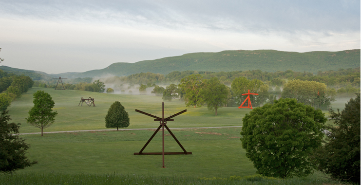 Storm King Art Centre Mark di Suvero