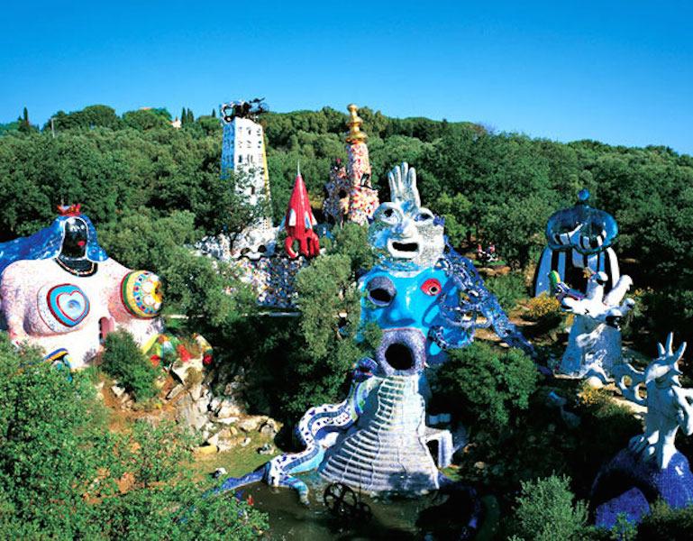 Niki de Saint Phalle's Tarot Garden
