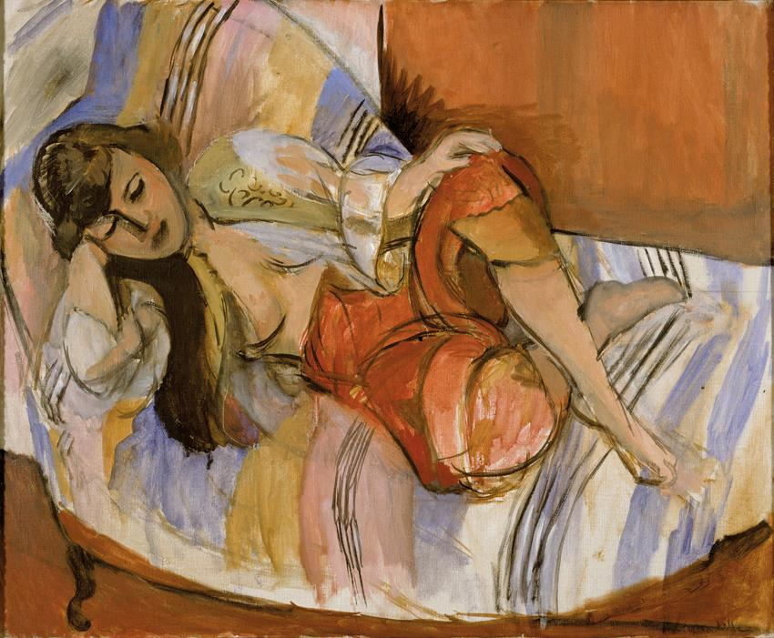 Art Second World War Henri Matisse, Odalisque, 1921 (courtesy: Stedelijk)