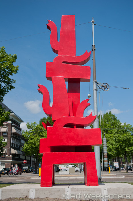 2015-The-Netherlands-Amsterdam-ArtZuid-Sculpture-Route-Klaas-Gubbels