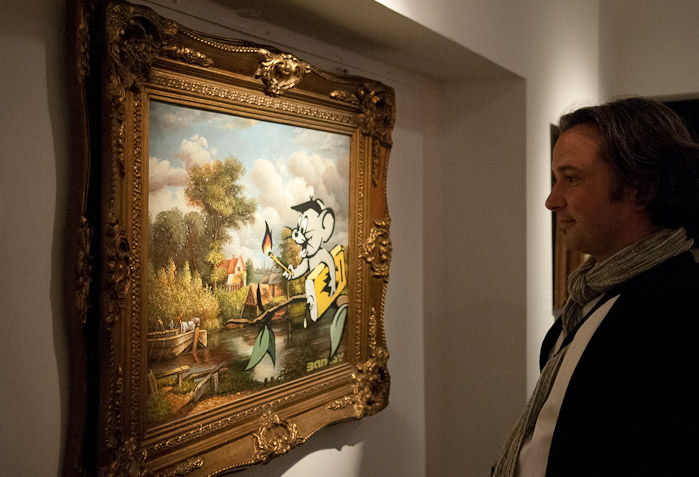 Banksy Exhibition Amsterdam Lionel Gallery - 2015-The-Netherlands-Amsterdam-Banksy-Lionel-Gallery-Jerry