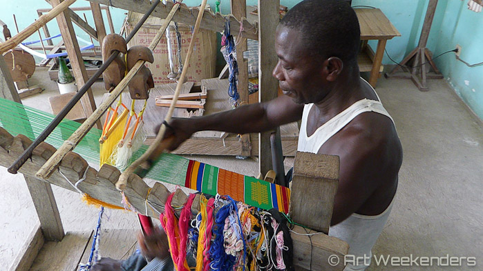 Kente weaving in Kpalime Togo folklore in modern society
